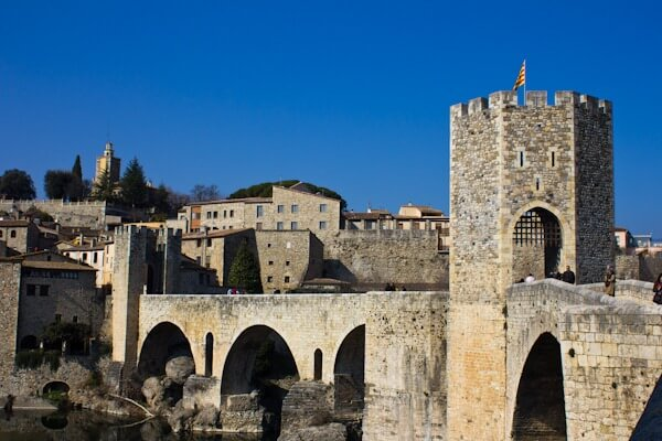 Besalu's Medieval Bridge