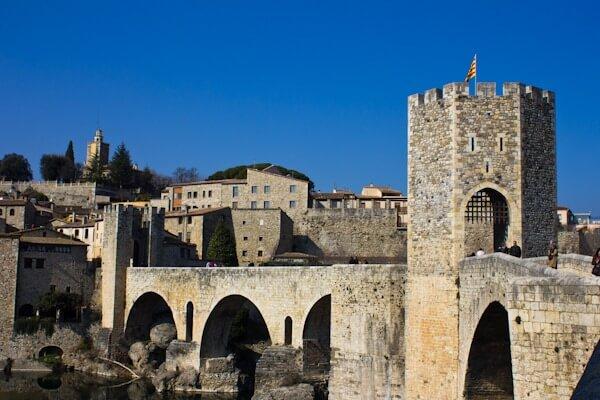 Besalu's Medieval Bridge