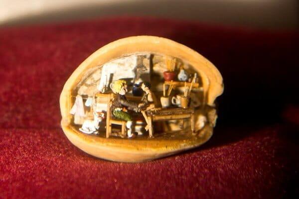Pinocchio in a Pistachio Shell