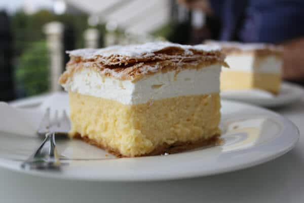 Lake Bled Cream Cake or Kremna Rezina