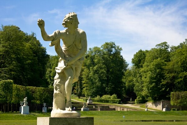 Statue at the Parc de Marly near Paris.