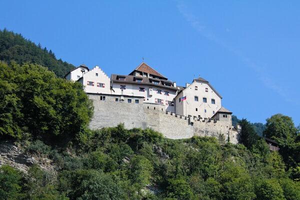 Schloss Vaduz in Liechtenstein