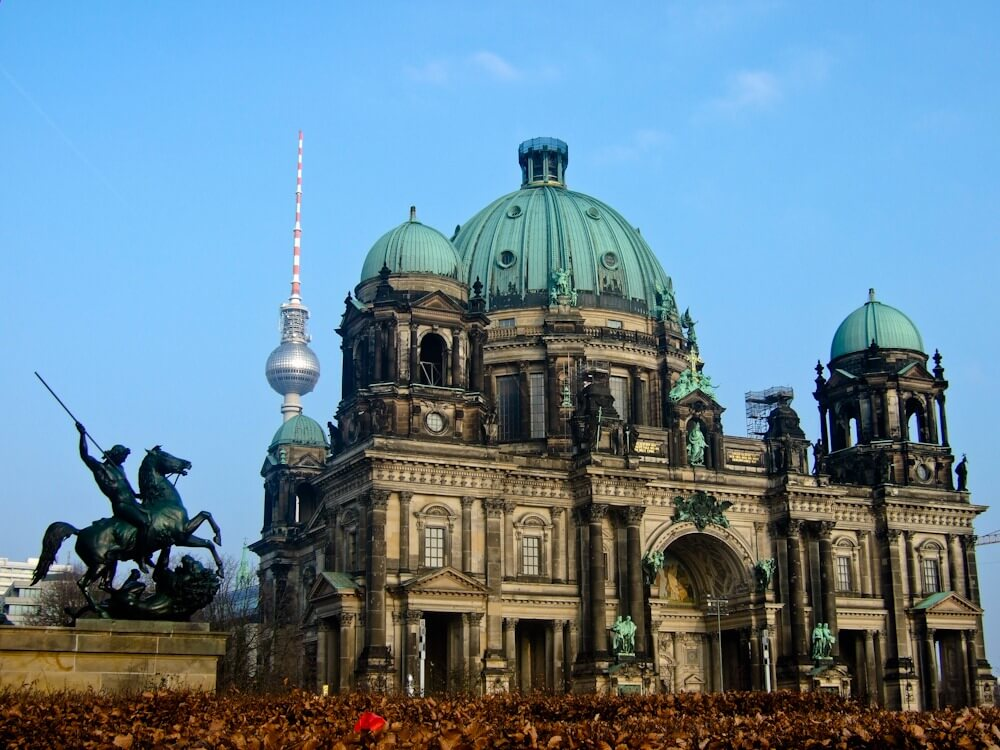 Berliner Dom and TV Tower