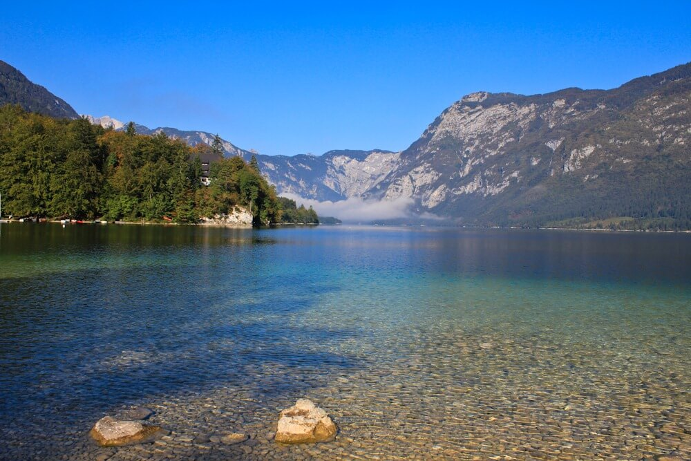 Crystal Clear Waters At Lake Bohinj