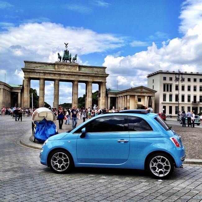 Driving My Fiat in Europe