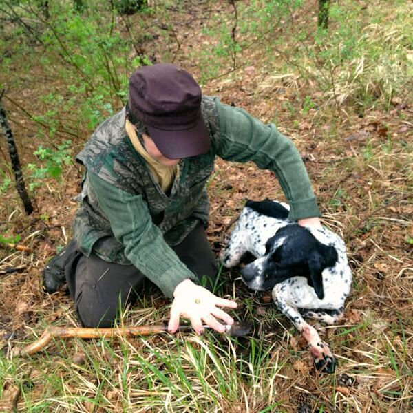 Truffle Hunting in Uppiano with Matteo and Sole