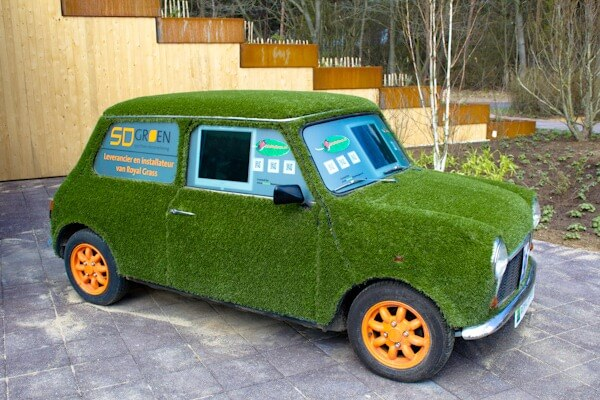 Grass Covered Green Mini