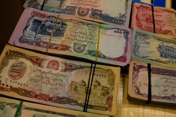 Worthless Afghan Currency