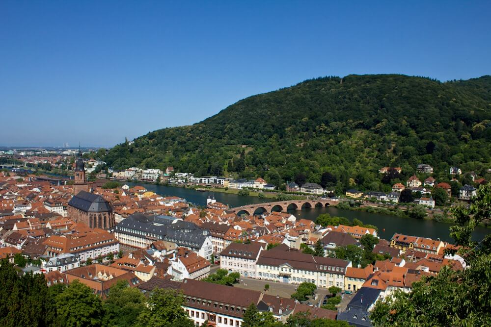 Heidelberg Germany on the Neckar River