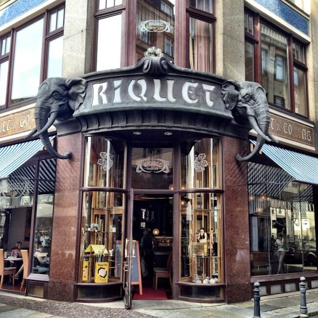 Leipzig Coffee House Riquet