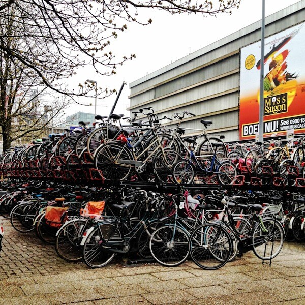 Bikes Galore in Utrecht