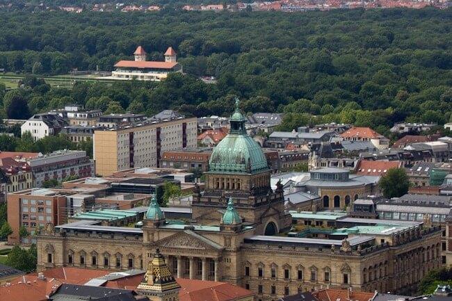 Overlooking Leipzig