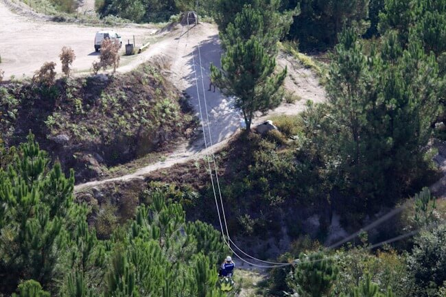 Zip Lining in Portugal