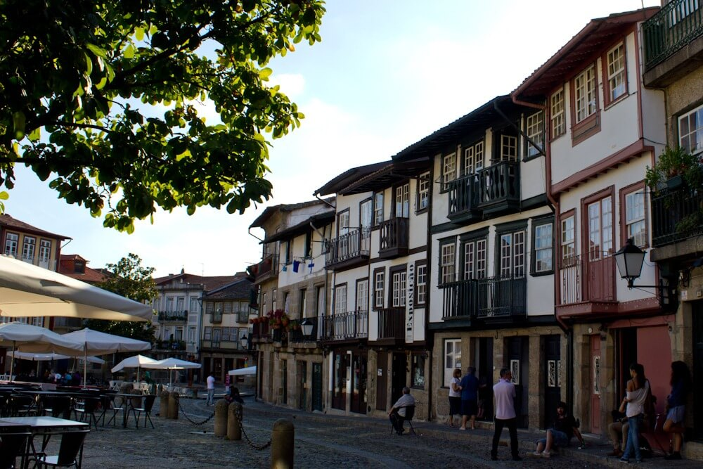 UNESCO World Heritage Site Guimaraes Portugal