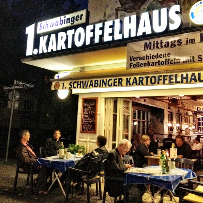 Munich's Kartoffelhaus Potato Restaurant