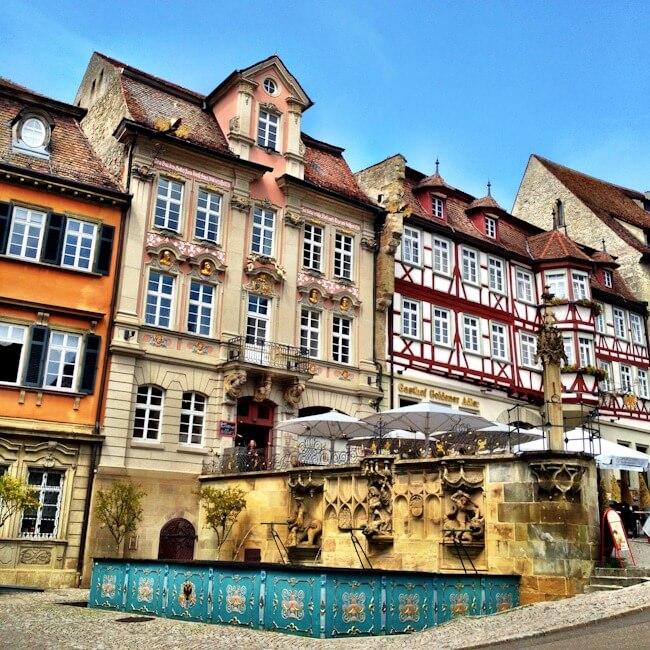 Schwabisch Hall in Germany