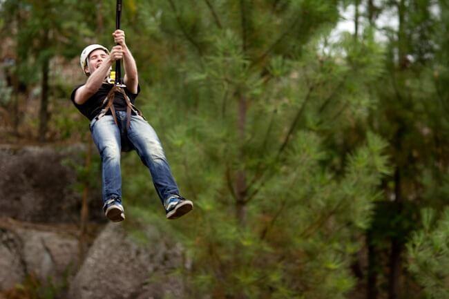 Diverlanhoso Adventure Park near Braga