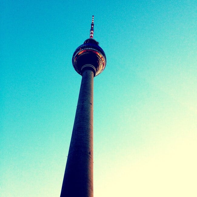 iPhone photo of the Berlin TV Tower