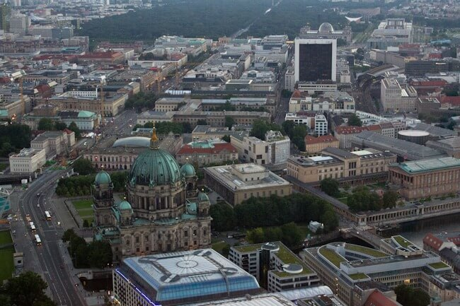 Visiting the Berlin TV Tower at Alexanderplatz