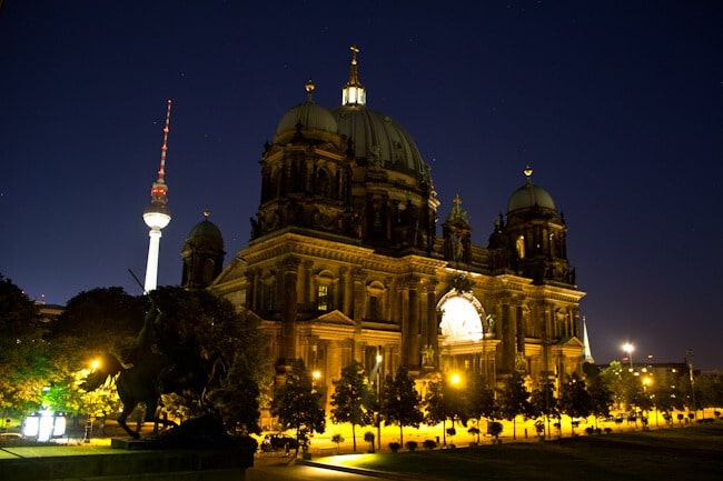 The Iconic TV Tower and Berliner Dom