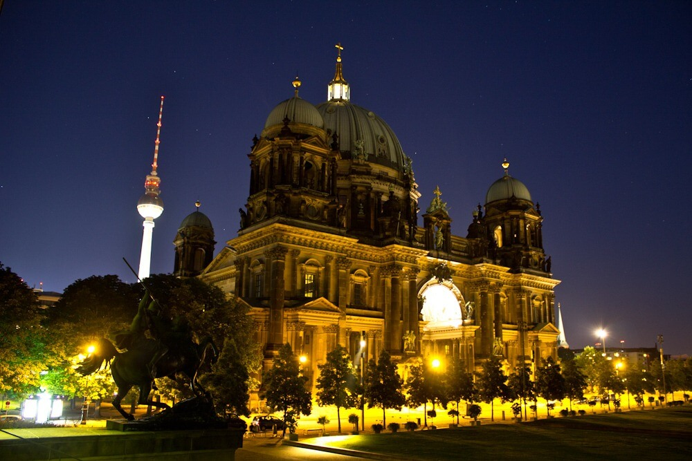 Berlin at Night #CityView @MillenniumEU