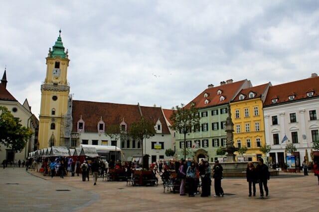 Vienna Day Trip: Bratislava