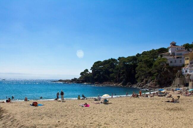 Llfranc Beach Costa Brava Spain