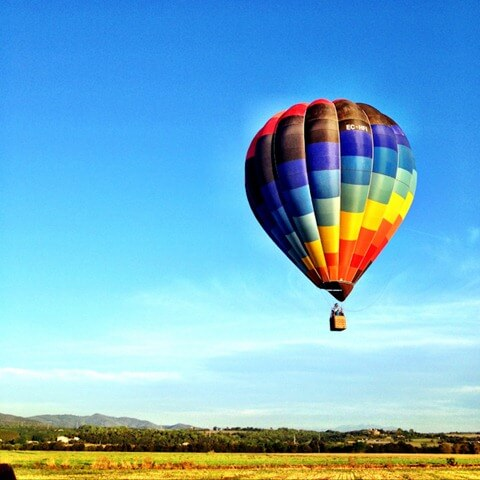 Hot Air Ballooning Over Costa Brava