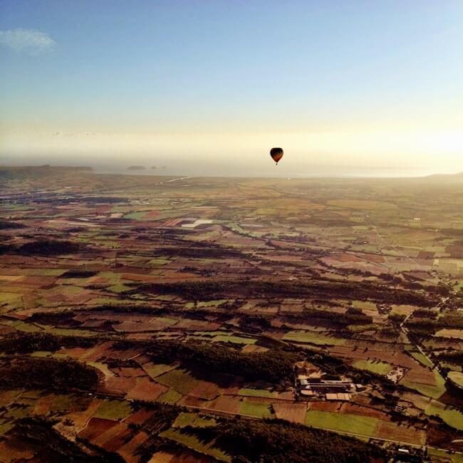 Globus Emporda Balloon Ride in Costa Brava Spain