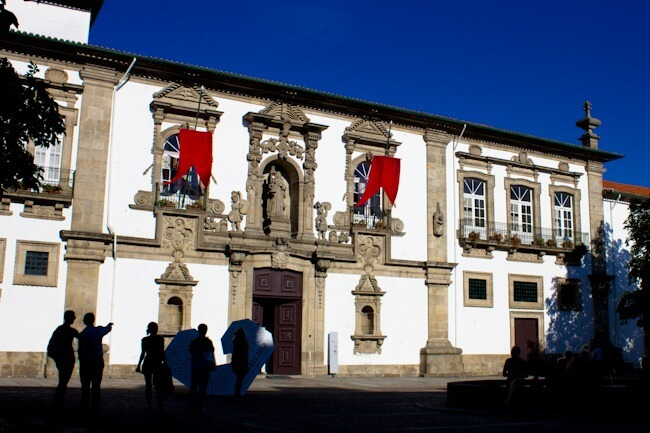 Driving from Porto to Guimaraes