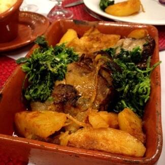 Restaurant in Guimaraes Portugal