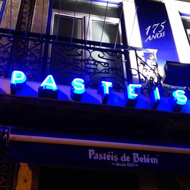 Pasteis de Belem Shop in Portugal
