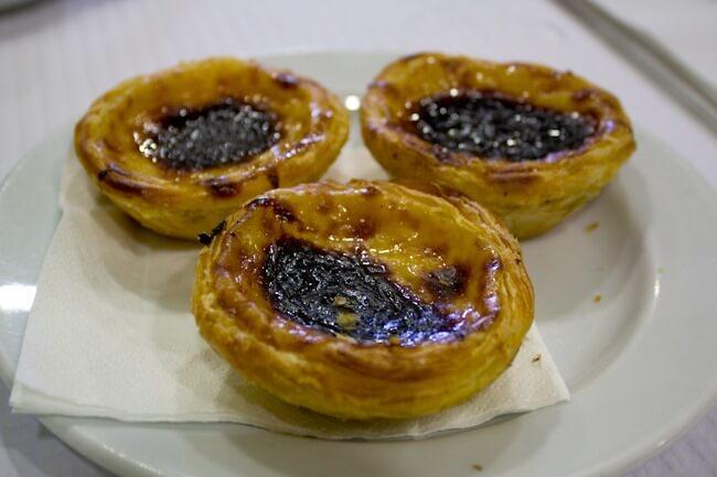 Pasteis de Nata in Lisbon