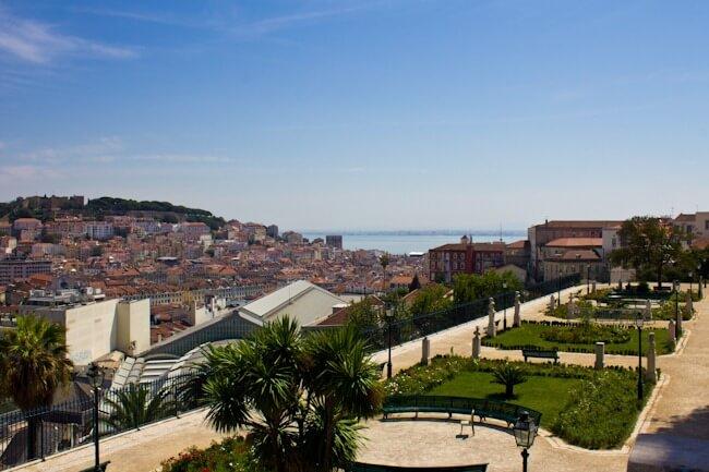 Garden in Lisbon
