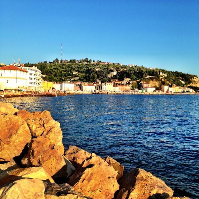 Swimming in Piran