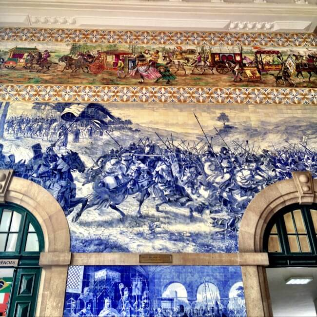 Sao Bento Train Station Porto Portugal