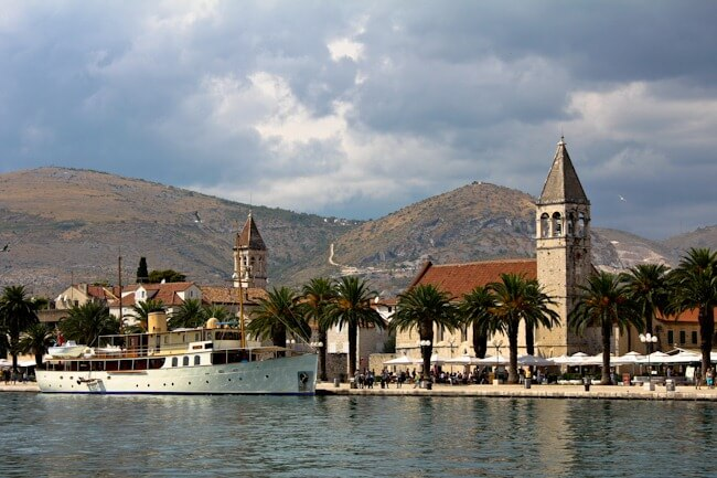 Getting a Boat or Water Taxi from Trogir