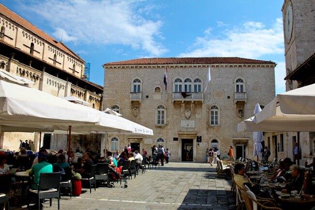 Trogir's Medieval Main Square