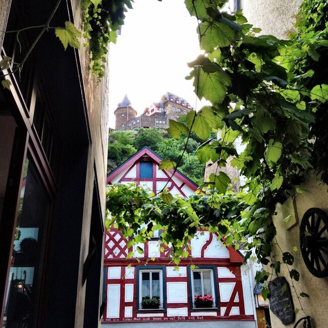 Wine Bar in Bacharach Germany