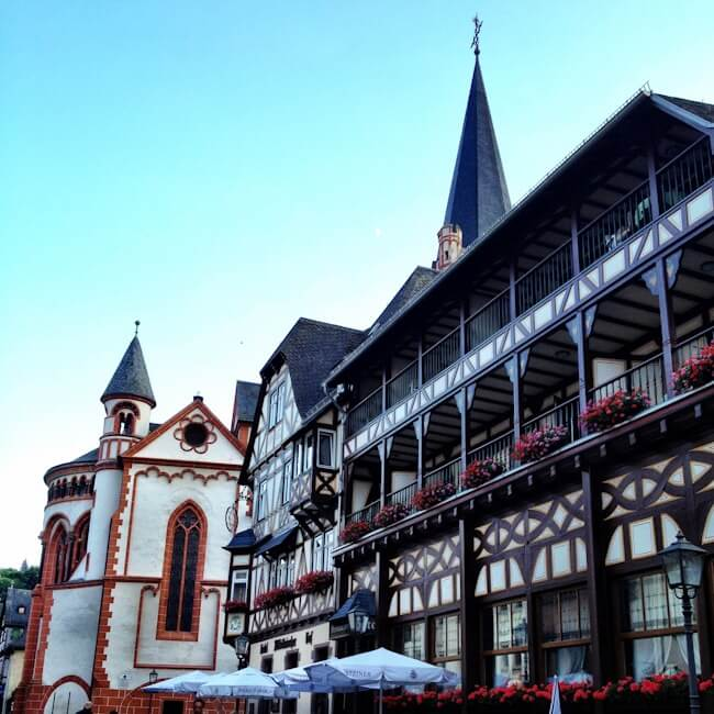 Bacharach Timber Framed Houses