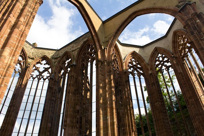 Wernerkapelle Gothic Chapel in Bacharach