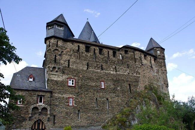 Stahleck Castle Hostel in Bacharach