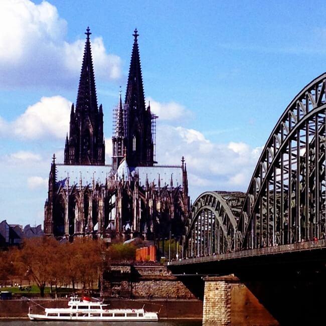 Cologne Dom and Hohenzollern Bridge