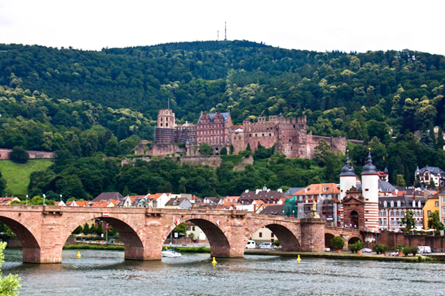 Heidelberg Castle and the Bridge