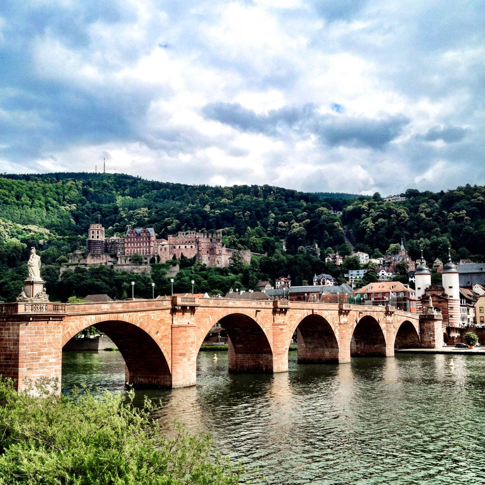 The Old Bridge in Heidelberg