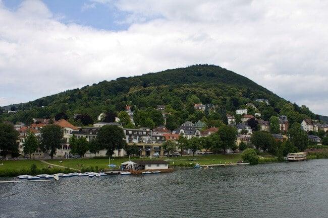 Heidelberg's Riverside Park