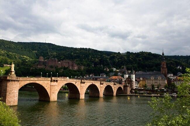 Alte Brucke in Heidelberg
