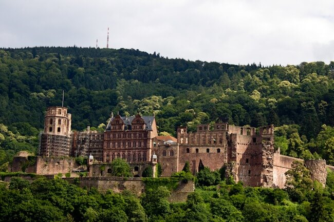 Heidelberg Castle Closeup