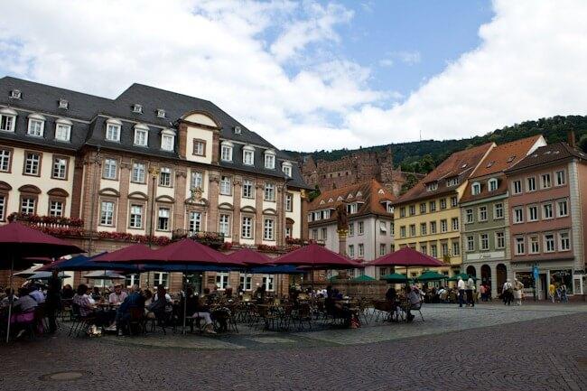 Heidelberg Marktplatz Main Square