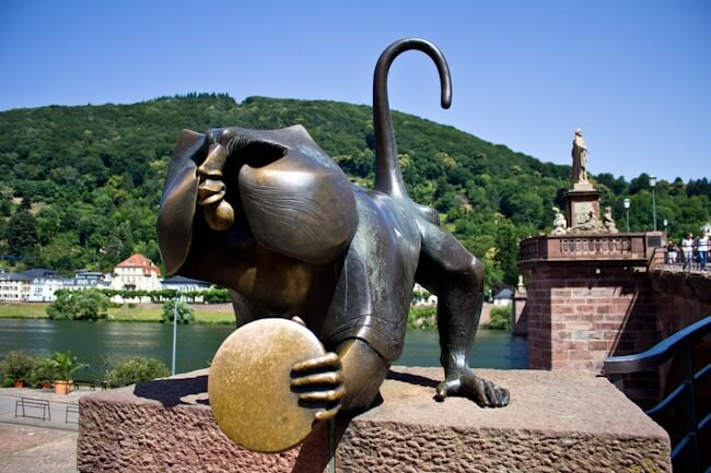 Bridge Monkey of Heidelberg